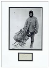 Robert Falcon Scott Autograph Signed Display
